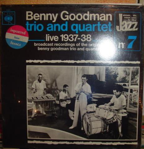Benny Goodman - Live 1937 / 38 - Trio & Quartet - CBS Sealed